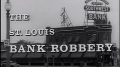 Steve McQueen - The Great Saint Louis Bank Robbery - Full Movie - 1959