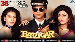 Baazigar - Bollywood Full Movie | Shahrukh Khan | Kajol | Shilpa Shetty |