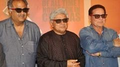 Javed Akhtar Salim Khan at & 039;Sholay 3D& 039; Trailer Launch | Hindi Movie | Boney Kapoor Amitabh