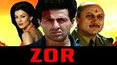 Zor Movie 1998 | Full Hindi Movie | Sunny Deol Sushmita Sen Milind Gunaji Om Puri Anupam Kher