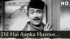Dil Hai Aapka Hujur - Dev Anand - Madhubala - Jaali Note - Bollywood Old Songs - O P Nayyar