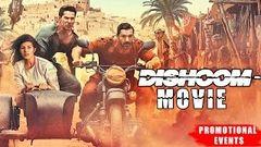 Dishoom 2016 Full Hindi Movie John Abraham Varun Dhawan Akshaye Khanna Promotional Event