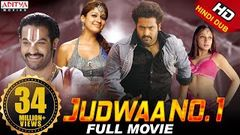 Judwa No 1 Hindi Dubbed Full HD Movie | J N T R Nayanthara Sheela | Aditya Movies