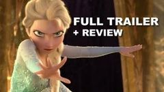 Disney Frozen Official Trailer + Trailer Review : Anna Elsa Kristoff and Olaf!