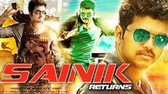 Sainik Returns Full Movie (2016) | Hindi Dubbed Movies 2016 | Vijay | New Action Hindi Full Movie
