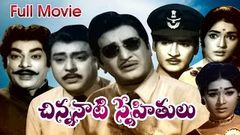Chinnanaati Snehithulu Full Length Telugu Movie DVD Rip