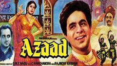 Azaad 1955 Hindi Full Movie | Eng Subtitles | Dilip Kumar Meena Kumari | Full Hindi Movie