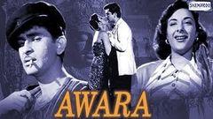 Awaara (1951) - Hindi Full Movie   Raj Kapoor & Nargis