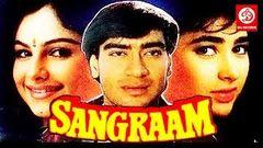 Sangram - Ajay Devgan   Karishma Kapoor   Bollywood Full Movie HD   Action Movie