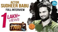 Actor Sudheer Babu Exclusive Interview | Nannu Dochukunduvate Movie | Frankly With TNR 131