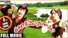 Ooriki Monagadu Telugu Full Length Movie | Krishna Jayapradha