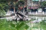 The Wrecked Bomber of Huu Tiep Lake