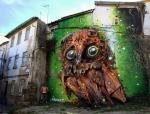 Murals From Trash by Bordalo II