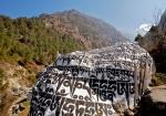 The Sacred Mani Stones of Buddhists