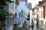 The Comic Book Route in Brussels