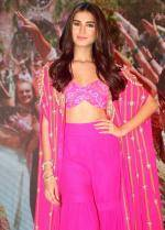 Tara Sutaria at The Mumbai Dilli Di Kudiya Song Launch