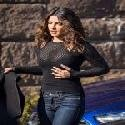 Priyanka Chopra  On the Set of Quantico in New York
