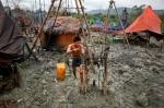 Myanmar's Manual Oil Drills