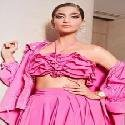 A ruffled affair in pink  Sonam Kapoor