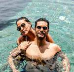 Neha Dhupia  Angad Bedis Dreamy Honeymoon