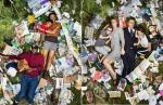 Photos of People Posing With a Week's Worth of Their Own Trash