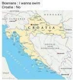 How Croatia Got The Coastline Away From Bosnia