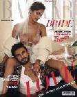 Ranveer Singh and Vaani Kapoor on Harpers Bazaar Bride Mag