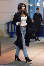 Priyanka Chopra  Arrives at JFK Airport in NYC