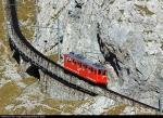 The Worlds Steepest Cogwheel Railway at Mount Pilatus