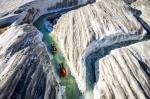 Hydrospeeding on The Aletsch Glacier