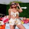 Kimberley Garner  Revolve VIP Area at Coachella